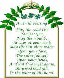 Irish Blessing ~ free Printable