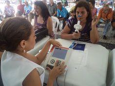 Pony FX: COSMED portable spirometers @ World Spirometry Day 2012 (Fortaleza, Brasil) by cosmednews, via Flickr