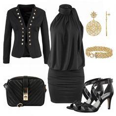 23d12b4326dc eleantblack Damen Outfit - Komplettes Abend Outfit günstig kaufen    FrauenOutfits.de