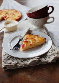 FoodLover: Nektarinkový koláč z jogurtového těsta