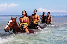 Best of the West Jamaica Island Experience This tour showcases the best of western Jamaica through a combination of thrilling adventures.Enjoy an exhilarating horseback ride into the warm Caribbean Sea then journey off the beaten track up to Reading Heights for spectacular views. You will also enjoy river tubing along the legendary Great River, followed by ziplining and rappelling! After pickup from your Montego Bay hotel your tour will begin! Enjoy an unparalleled, exhilara...