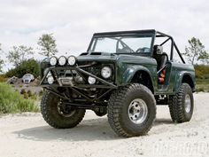 1968 Ford Bronco this is close enough!!! i would be perfectly happy with this.. hint.. hint...