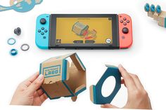 Nintendo Labo interactive build-and-play DIY kits for the Nintendo Switch launched - Price Availability Video #AR #AugmentedReality #Gadgets #IoT #MR #MixedReality #Smartwatches #VR #VirtualReality #Wearables  #MyAppsEden