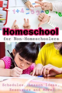 If you are starting up homeschooling for the first time and looking for scheduling ideas, lesson routines and tons of resources and printables, check this post out! How To Start Homeschooling, Educational Activities, First Time, Back To School, Preschool, Parenting, Printables, Creative, Check