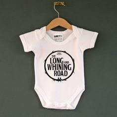 The Long and Whining Road Beatles Baby One by NippazWithAttitude, £16.99