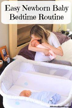 EASY Newborn Baby Bedtime… #babysleeptraining Routine For Newborn, Bedtime Routine Baby, Baby Bedtime, Baby Sleep Schedule, Bedtime Music, Getting Baby To Sleep, Help Baby Sleep, Toddler Sleep, Baby Sleep Consultant