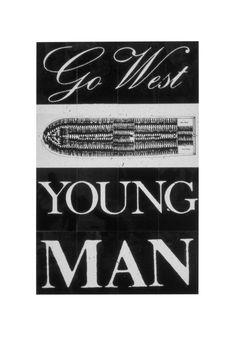 blackcontemporaryart:  Go West Young Man Keith Piper 1987 #ADPhD #ADPhDTumblr