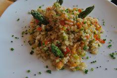 chapucillas en la cocina: salteado de arroz integral con verduras