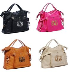 This Chic Personalized Purse Will Be Great With Your Wardrobe Comes In 4 Colors To Choose From And Personalization Options Are Endless