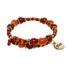Shop for Fire Element Charm Bracelet. Free Shipping on orders over $45 at Overstock.com - Your Online Jewelry