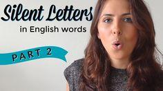 Silent Letters | English Pronunciation & Vocabulary | PART 2 https://youtu.be/Wprp1N2srIw?utm_content=buffera3081&utm_medium=social&utm_source=pinterest.com&utm_campaign=buffer via @YouTube