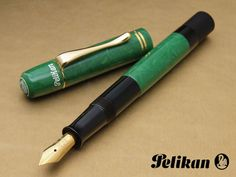 Pelikan 1935 - LE Jade...I have Lapis Blue & Now to get the Jade...