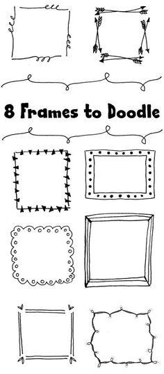 8 Frames to Doodle