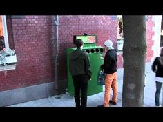 Changing behaviour by making things fun: The Fun Theory 3 - Bottle Bank Arcade Machine. Volkswagen.  Guerilla Marketing