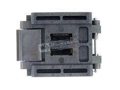 module QFP44 TQFP44 FQFP44 PQFP44 FPQ-44-0.8-19 Enplas IC Test Burn-in Socket Programming Adapter 0.8mm Pitch #Affiliate