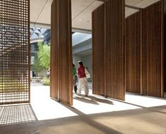 pivoting screens sleek natural wood delicate detailed