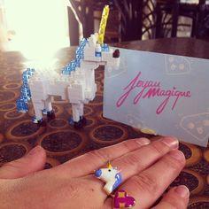 #keepcalm you have #unicorn power!!!!!!!  #bague #poplicorne #pop  #licorne #natoo #main #coeur #emoji #love #yolo @natoogram @joyaumagique
