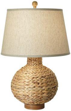 Seagrass Bay Round Table Lamp Pacific Coast Lighting http://www.amazon.com/dp/B006QM10D2/ref=cm_sw_r_pi_dp_3hYoub1G658BJ