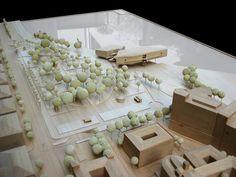 Maqueta Centro Botín Renzo Piano