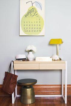 One Desk, Three Ways Entry Console