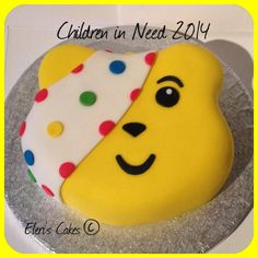 Pudsey Bear cake :)