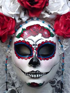 day of the dead, makeup ideas