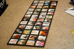 Bits Of Everything: Wall Picture Collage - Or just DIY project Large Collage Picture Frames, Wall Collage, Picture Collages, Family Collage, Diy Projects To Try, Craft Projects, Photo Projects, Do It Yourself Inspiration, Photo Boards