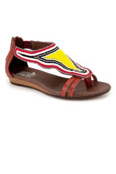 Pikolinos is a company that focuses on providing the endangered Kenyan tribe, Maasai, with a better quality of life. The Pikolinos team supplies Maasai women with the leathers and materials used in the production of their brand's shoes. The result: gorgeous sandal collection...Pikolinos has been able to create 1400 jobs for the Maasai women. Thanks to Pikolinos, Maasai women now earn stable wages for the first time in their lives (something that only men had the right to do before).