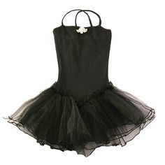 Reflectionz has created this adorable black leotard dance tutu dress just for the little girl dancer in your life.  The washing instructions suggest washing on a cold, delicate cycle, and hang drying.  This dance tutu dress will delight your sweet princes