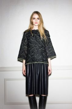Total look by (NUDE) skirt and top from the fall/winter 15 womenswear collection http://www.betosee.com/collection/59155