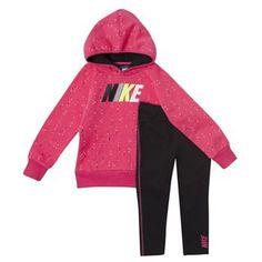 nike sweater kids pink