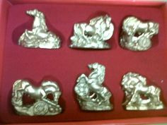 Caballo Pequeño Dorado - Feng Shui - Suerte - Prosperidad - BsF 60,00 en MercadoLibre