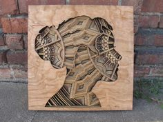 Oakland-based artist Gabriel Schama is creating large scale, laser-cut wood sculptures that mesmerize with their intricate swirls and patterns.