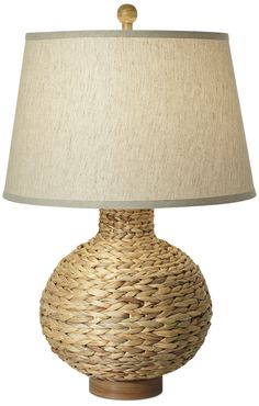 Pacific coast lighting pcl seaspray 3044 h table lamp with drum pacific coast lighting seagrass bay round 30 h table lamp with empire shade reviews aloadofball Gallery