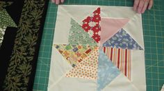 Stack a nd Whack Quilt using Turnovers! like the one in my book but faster