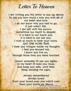 happy fathers day poem in heaven