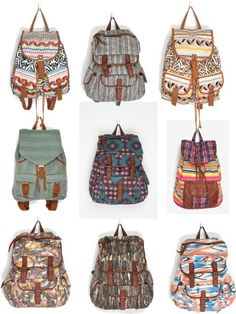 http://airlinepedia.net/cute-luggage.html Cute back packs. Cute Backpacks Middle right <3