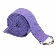 Cotton Yoga Strap - Lavender