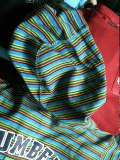 Bad+Mad, Long Sleeve, Doublesleeve, Langarmshirt, Blau, Rot, Camouflage,  Ärmel  Braun,Ansatz , Beste Quau2026 | Shop, Vintage  Mode, Marken, Kult, ...
