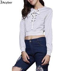 ddb1c819fd23 FANALA Women s Crop Top Sweatshirt Sleeve Styles