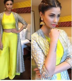 Daisy Shah# Smita shah# indo western #