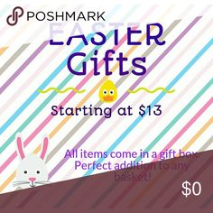 Easter gifts for girls of all ages! Necklaces Perfect gifts to add to Easter baskets. Necklaces starting at $13. Each comes in a gift box. WAY better than candy,  she can treasure this! Bundle discounts, create your own from my pendant and chain selections or choose one of my premade options! Jewelry