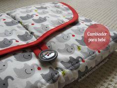 Cambiador de viaje para bebés | Regalos hechos a mano para bebé | el taller de las cosas bonitas