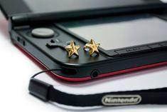 Brinco Estrela Super Mário Bros - épica bijuterias Super Mario Bros, World Of Warcraft, Legend Of Zelda, Nintendo, Pokemon, Swiss Army Knife, Nail Clippers, Geeks, Adjustable Bracelet