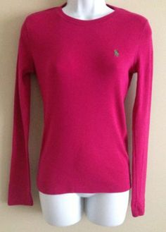 Ralph Lauren Classic Polo Logo Red Short Sleeved Pony Women
