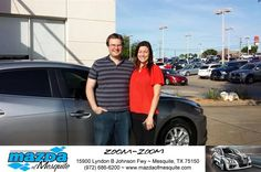 https://flic.kr/p/GoQW7f | Happy Anniversary to Denver on your #Mazda #Mazda3 from Teresa Mayon at Mazda of Mesquite! | deliverymaxx.com/DealerReviews.aspx?DealerCode=B979