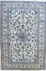 blue persian rug - blue
