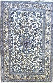blue persian rug - blue