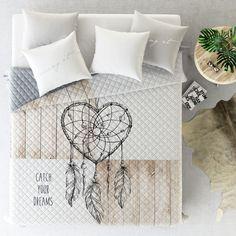 Prošívaný přehoz na postel béžový Bed Pillows, Pillow Cases, Sweet Home, Design, Home Decor, Pillows, Decoration Home, House Beautiful, Room Decor
