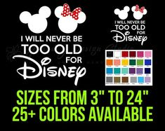 Free Shipping! Old Signs, Vinyl Decals, Minnie Mouse, Free Shipping, Handmade Gifts, Etsy, Color, Handcrafted Gifts, Colour